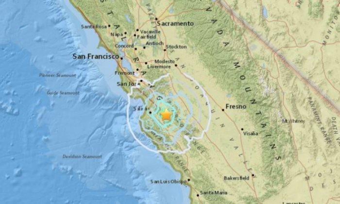 加州一天小震10次 专家担忧引发强震