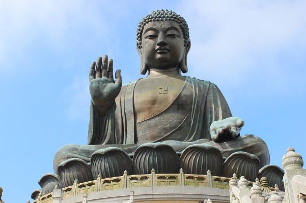 古風古韻:孟浩然佛像前的虔誠禮拜