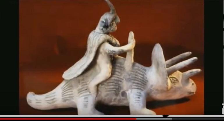 巨人曾統治地球 還「騎著恐龍」當代步工具?(視頻)