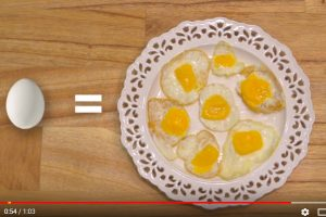 一颗蛋变七颗蛋!一分钟学会 让你轻松吃、轻松瘦(视频)