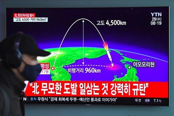 朝鲜再射导弹 美军方:能保护国家免受威胁