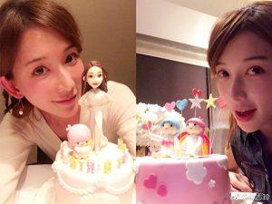 林志玲甜美素顏如少女 43歲生日收最特別禮物