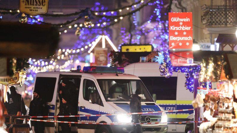 德国耶诞市集发现可疑包裹 内装粉末钉子