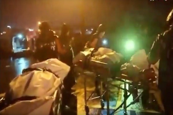 离奇车祸!火车与机车相撞 1男1女当场丧命