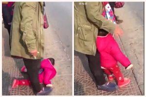 河北父虐1歲親生女 腳踩地上輪番掌摑(視頻)