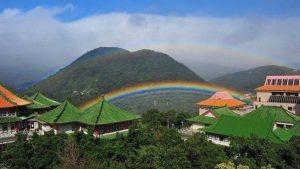 台北天空現異象 陽明山「彩虹」歷時9小時破記錄