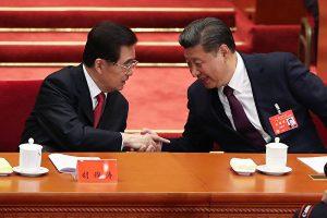 """台媒:习近平""""谢谢""""胡锦涛破惊天阴谋"""