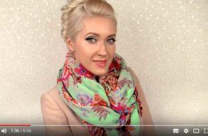 15种不同的围巾围法 看起来高贵典雅(视频)