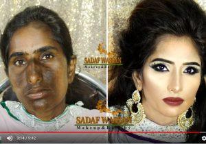 驚人的化妝術 簡直判若兩人(視頻)