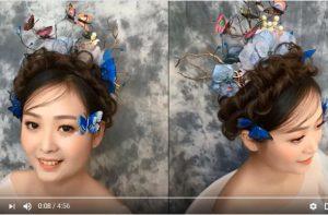 5大美丽的婚礼发型教给你(视频)
