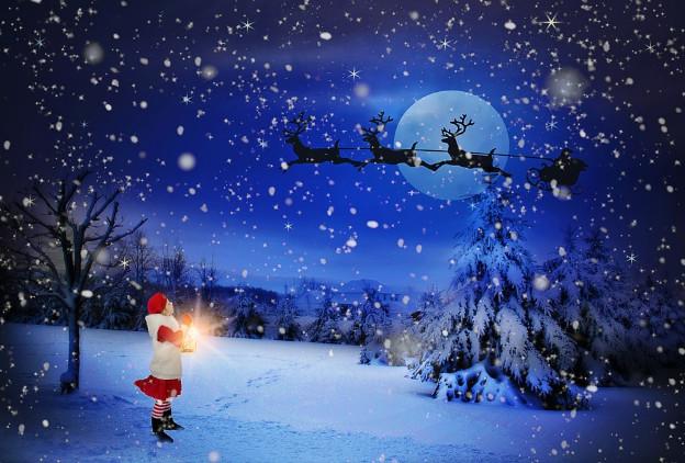 聖誕老人被無意中拍到 看完還是難以相信(視頻)