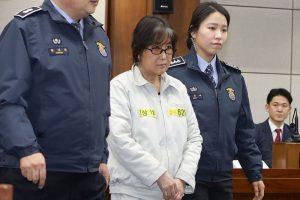 韓閨蜜醜聞核心人物崔順實 檢求刑25年充公財產