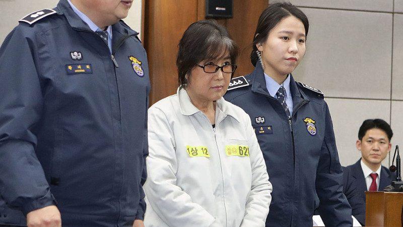 韩闺蜜丑闻核心人物崔顺实 检求刑25年充公财产