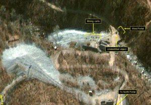最后一爆?卫星影像曝朝鲜核试场现密集活动