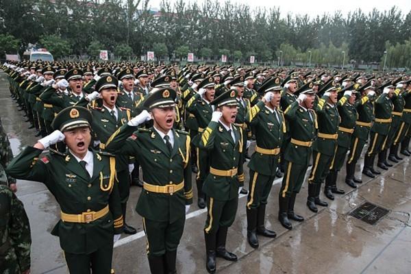 「江家軍」被繳械  武警裁減40萬人 機動師全撤
