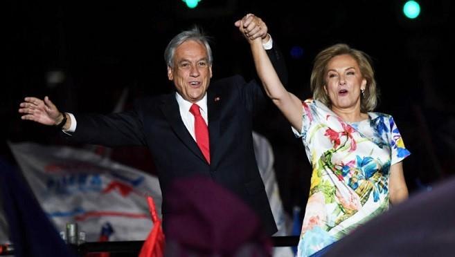 智利總統決選 億萬大亨得票過半勝出