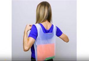 真想不到 她竟用一个塑料袋做成背包 还有28种你不知道的简单做法(视频)
