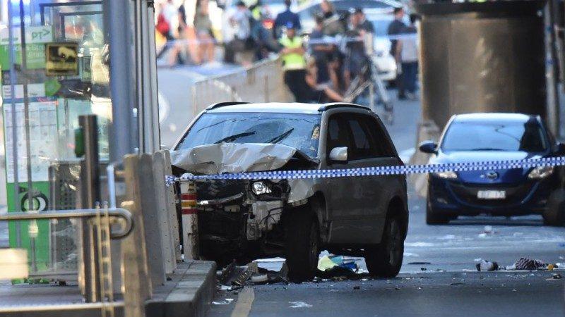 墨爾本汽車蓄意撞人 19人輕重傷包括1中國人