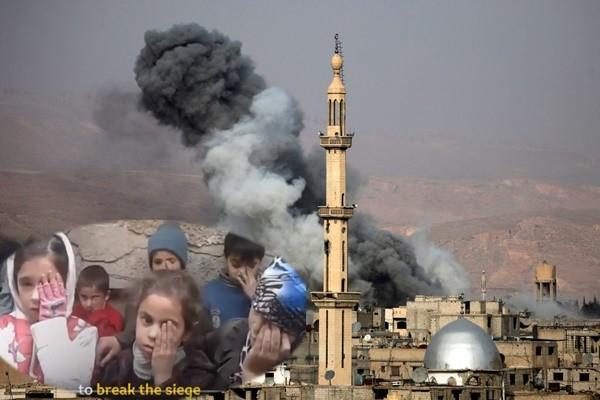 敘利亞內戰 獨眼嬰兒照片牽動人心