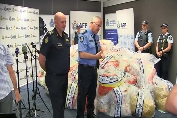 澳洲破獲史上最大冰毒案 來自中國重達1.2噸