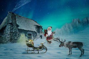 你知道嗎?聖誕老人的每一隻馴鹿都有一個意義獨特的名字