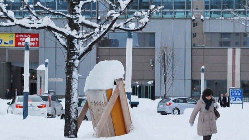 聖誕節暴風雪再現 日本北海道連3天警戒