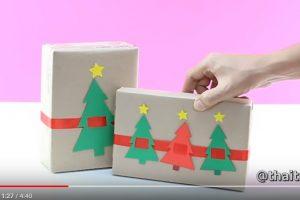 7种礼物包装法 适合家人亲友(视频)