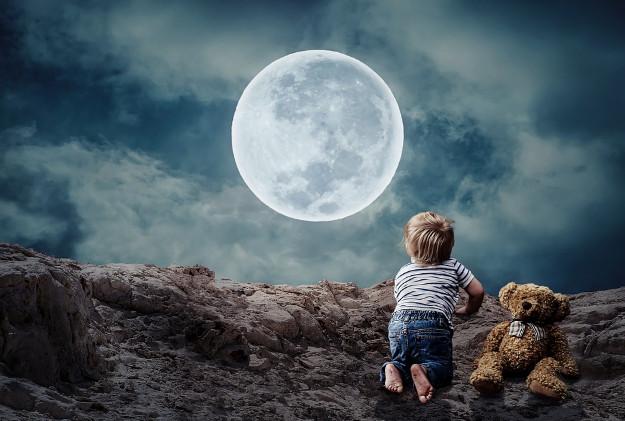 月亮是人造的 古代如此記述
