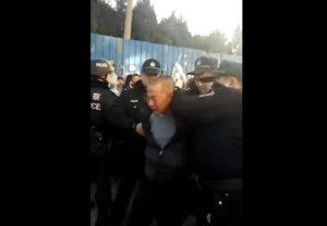 """河北燕郊四断三清继续驱逐""""低端"""" 有人被抓(视频)"""