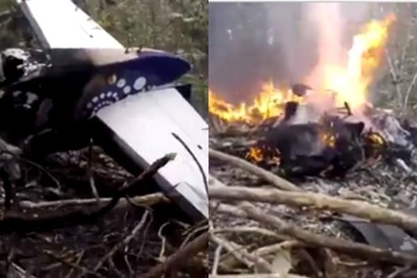 哥斯达黎加小飞机坠毁 12名美国游客遇难