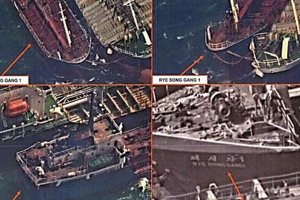韓媒公佈鐵證 5艘對朝非法交易船均歸屬中國人