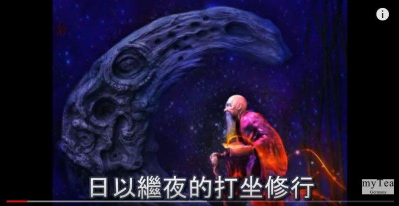 老和尚憶起前世 曾參與建造月球過程(視頻)