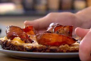 大厨早餐 美式薯饼烤蛋(视频)