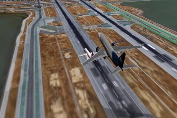 塔台緊急下令重飛 舊金山機場險釀撞機