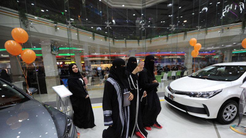 嗅到龐大商機!車商專為沙特女性舉辦「粉紅車展」