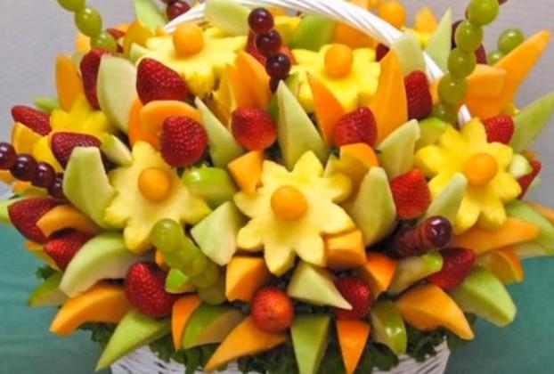 可爱的水果花 漂亮到不舍得吃(视频)