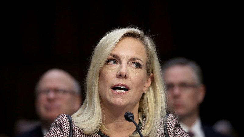 美國土安全部部長聽證會作證:川普沒用那個詞
