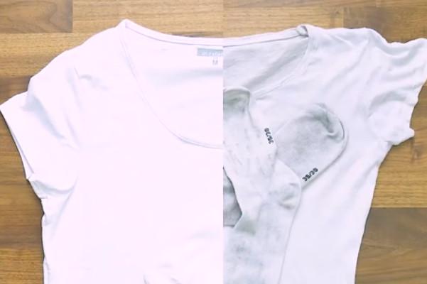 白色衣物穿久發黑 加一天然物立馬變白(視頻)