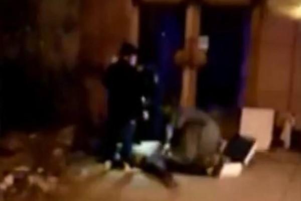河南城管撤走梯子 廣告牌工人墮地身亡