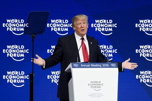 川普達沃斯講話後 全球股市上揚 美股創新高