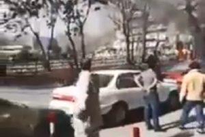 爆炸声响彻喀布尔 至少73死伤(视频)