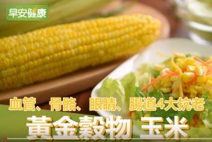 黄金谷物玉米 具4大抗老功能(视频)