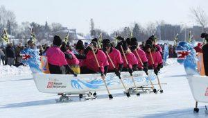 2018渥太华国际冰雪节拉开帷幕(多图)