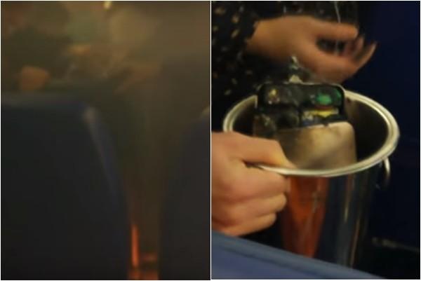 中国客行动电池爆炸 俄客机着陆紧急疏散