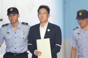 涉賄案大逆轉 三星李在鎔當庭釋放