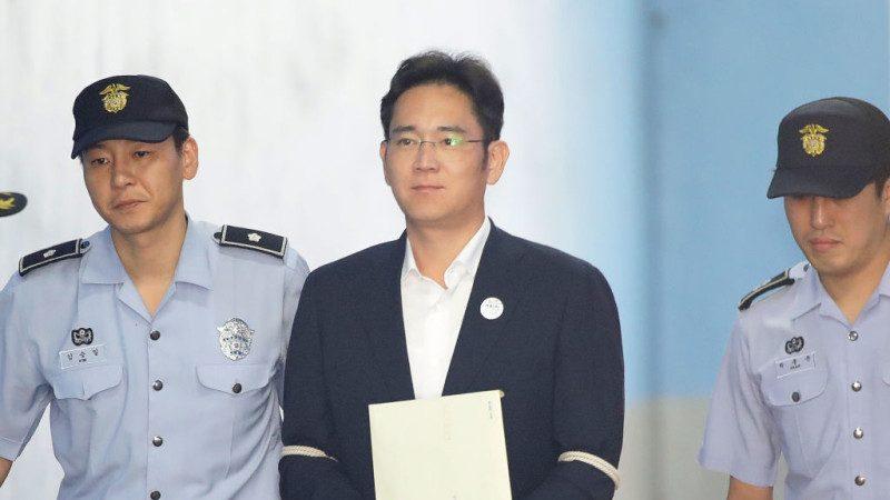 涉贿案大逆转 三星李在镕当庭释放
