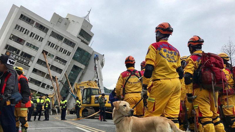 出差遇地震 倖存者:到處救命聲 一則手機訊息救了他