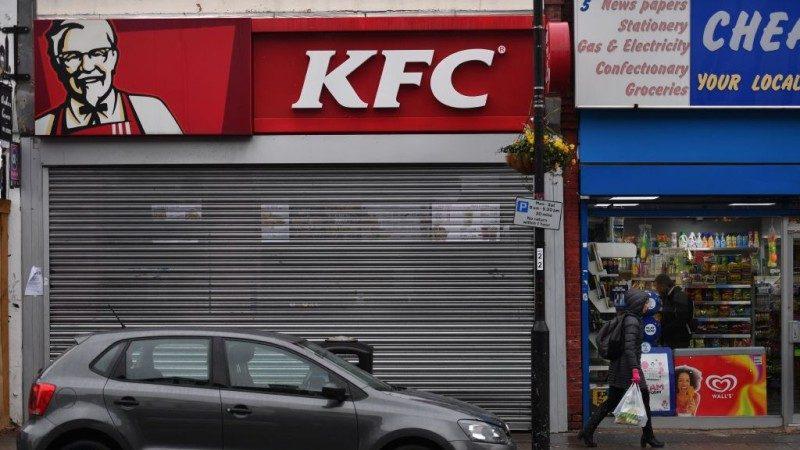 無雞可吃 英700多家肯德基被迫暫停營業