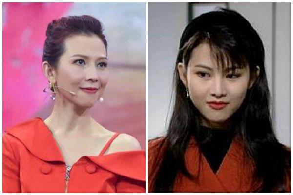 蔡少芬晒25年前经典剧照 网赞:天然美女