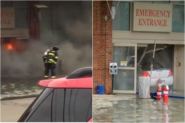 載汽油罐衝撞醫院自焚 美國男子重傷入院